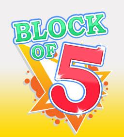 BLOCK OF 5