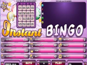 Instant Bingo 80
