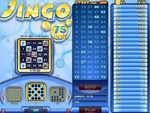 Jingo Bingo 75