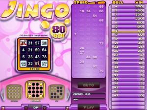 Jingo Bingo 80