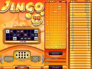 Jingo Bingo 90