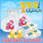 Yes Bingo roll call of big winners
