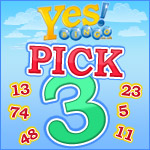 Pick 3 and Win £10 at Yes Bingo
