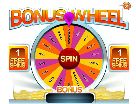 Yes Bingo Bonus Wheel