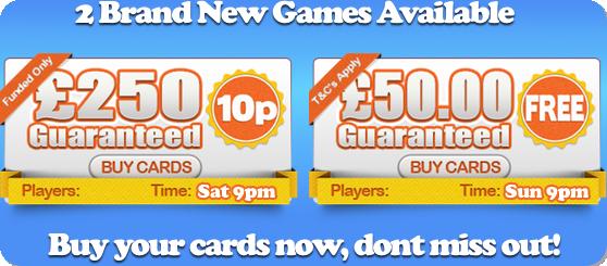 yes bingo new games